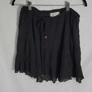 J. Valdi Swim Cover-up Skirt, Black